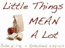 Little Things Mean A Lot By Annice Thomas